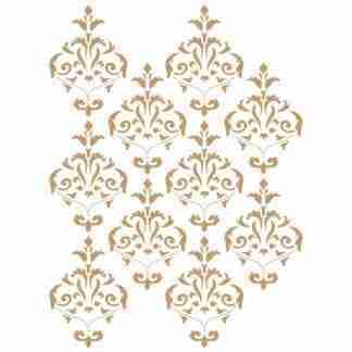 Stencil Background 039 Damask 40 x 60