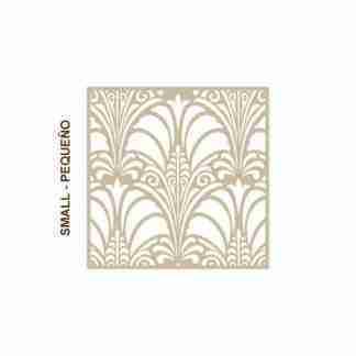 Stencil Home Decor Damask 017 - 50 x 50