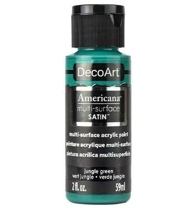 DecoArt multi-surface acrylverf - Jungle green