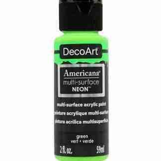 DecoArt multi-surface acrylverf - Neon Green