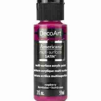 DecoArt multi-surface acrylverf - Raspberry