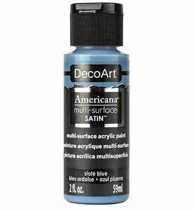 DecoArt multi-surface acrylverf - Slate Blue