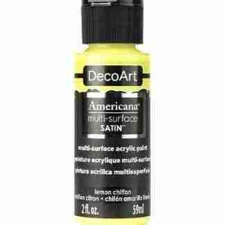 DecoArt multi-surface acrylverf - Lemon chiffon