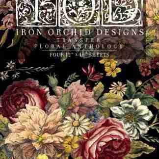 IOD transfer pad Floral Anthology ( blok met 4 vellen)