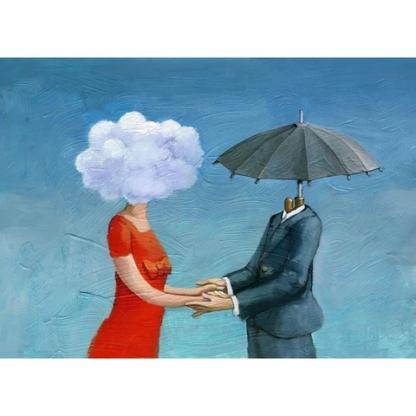 Mint by Michelle decoupage paper Umbrella