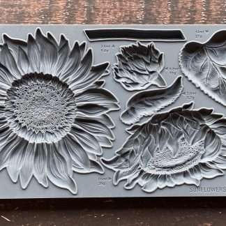 Iron orchid designs mold Sunflowers