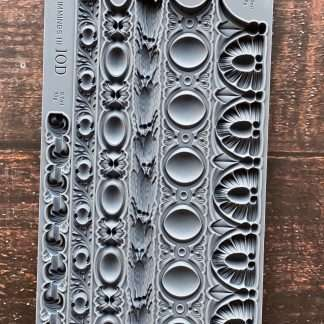 Iron orchid designs mold Trimmings 3