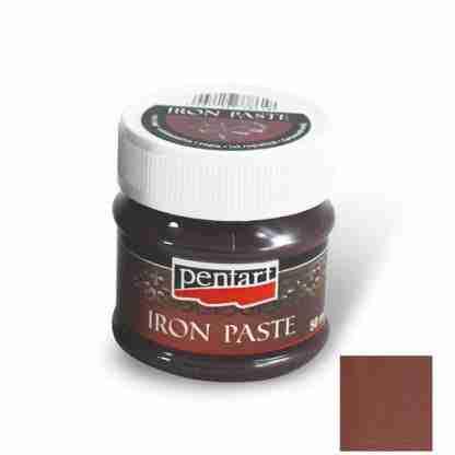 Pentart - Iron paste red-brown 50 ml.