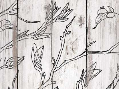 Iron orchid designs stempel Branches & vines