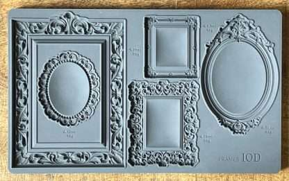Iron orchid designs mold Frames