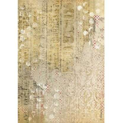Stamperia Rice Paper A4 Andalusia Texture