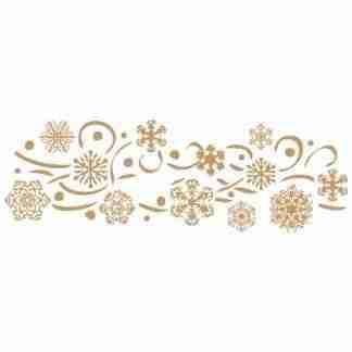 Stencil sneeuwvlokken